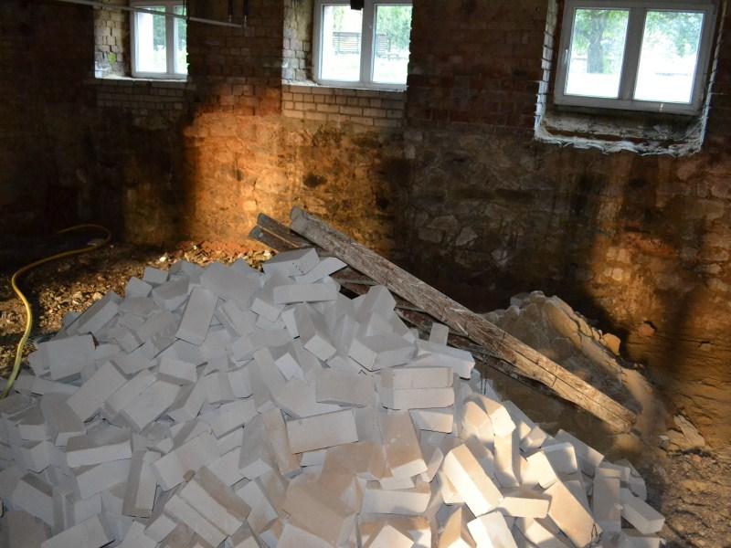 Baumaßnahmen im Keller