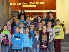 Grundschüler aus Mittelherwigsdorf