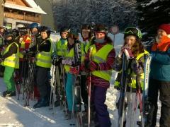 1.Tag im Skilager